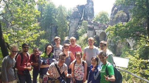 Wandertag in der Sächsischen Schweiz
