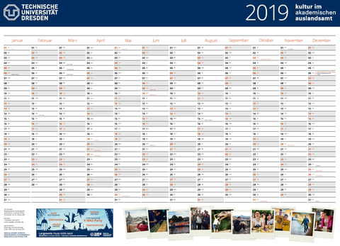 Kulturbüro Jahresplaner 2019
