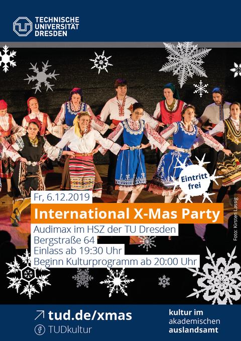Xmas-Party 2019 Flyer