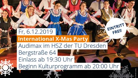 Xmas-Party 2019 Monitor halb