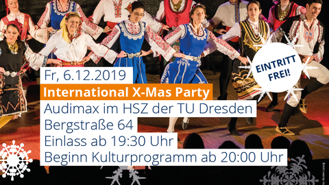 Xmas-Party 2019 Monitor halb