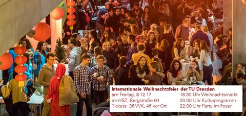 Internationale Weihnachtsfeier der TU Dresden 2017