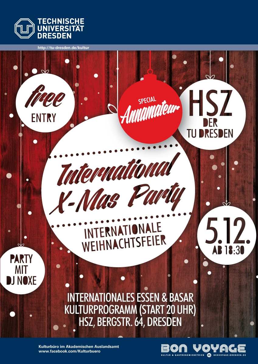 Poster of the 2014 International Christmas Party