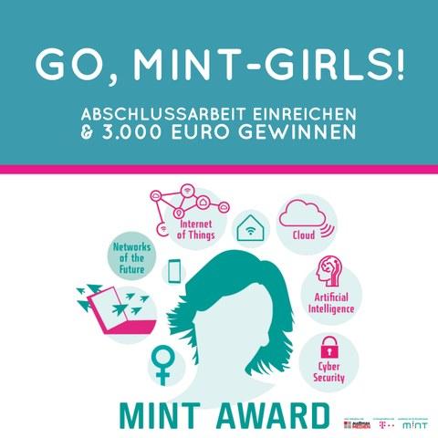 Frauen MINT-Award Ausschreibung