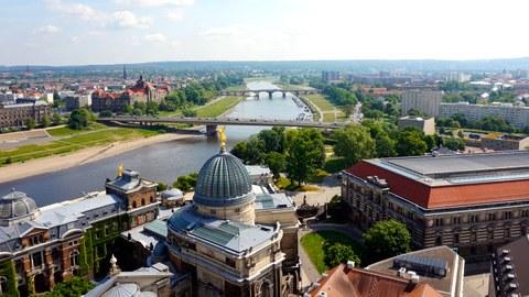 Studienstadt Dresden Panorama