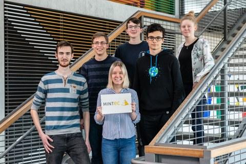 Ein Gruppenfoto der MINT-EC Stipendiaten 2019
