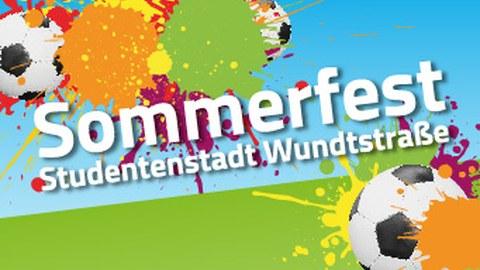 Hinweisgrafik auf das Sommerfest Wundstraße