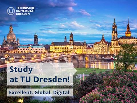 Dresden in den Abendstunden