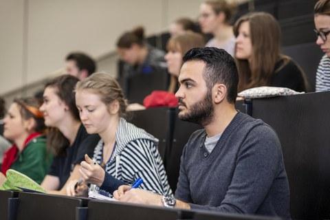 Studenten in der Vorlesung