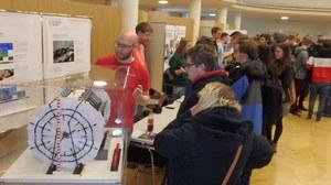 Informationsstand der Fachschaft Maschinenbau zu Uni Live 2019