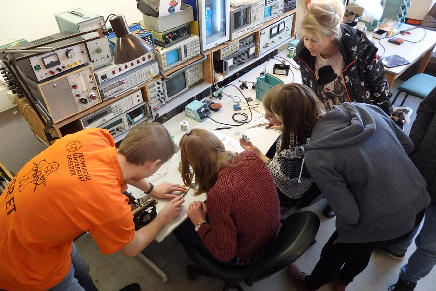 R ckblick uni live hochschulinformationstag 2018 for Elektrotechnik studium nc