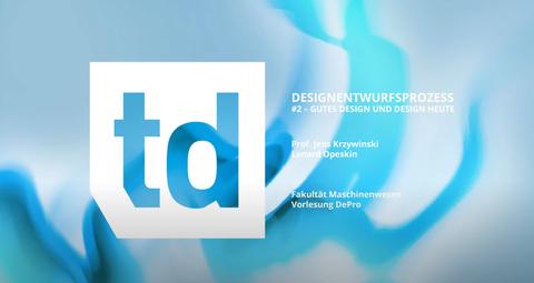 Vorlesung Technisches Design