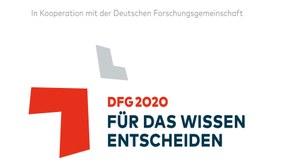 Logo der Deutschen Forschungsgemeinschaft zur Kooperation am Uni-Tag 2020