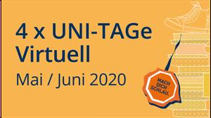 Logo für Uni-Tag 2020 virtuell