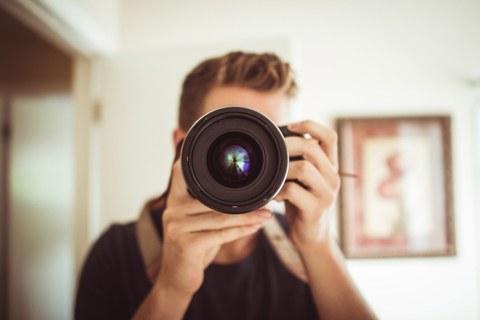 Kamera mit Fotograph