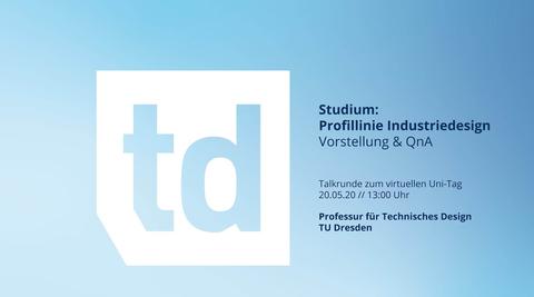 Profillinie Industriedesign / Vorstellung und QnA
