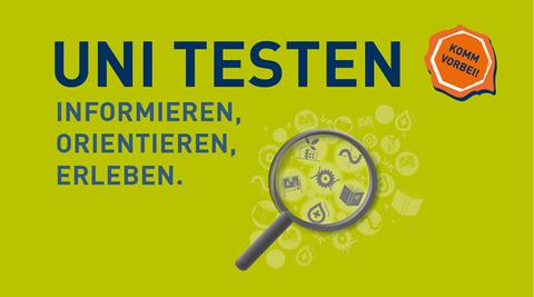 Logo Uni Testen