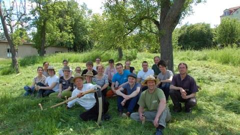 Teilnehmerinnen und Teilnehmer des Workshops