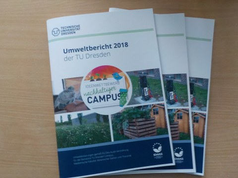 Umweltbericht TU Dresden 2018