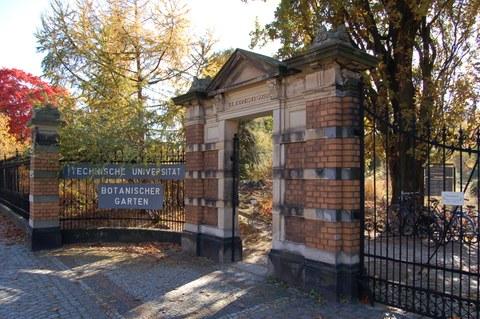 Gate of the Botanical Garden Dresden