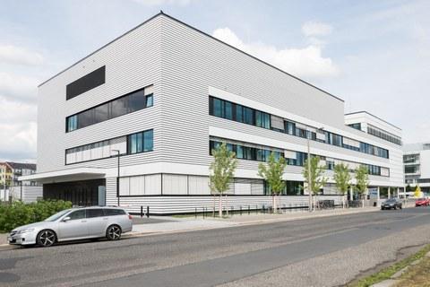 Foto vom Gebäude des BCUBE