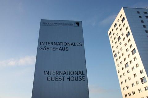 Foto vom Internationalen Gästehaus