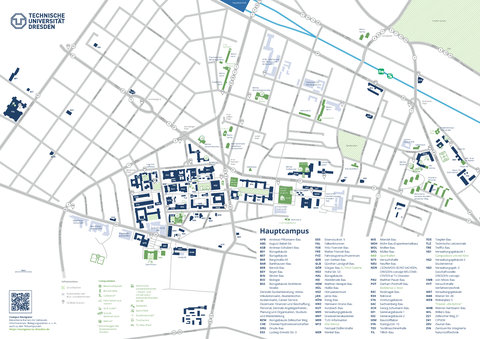 Campusplan-Hauptcampus deutsch