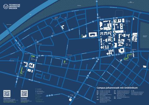 Campusplan-Joh+Uniklinik_blau_A3_deutsch