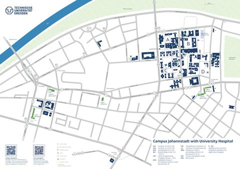 Campusplan-Johannstadt englisch
