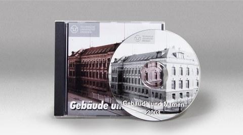 CD - Gebäude und Namen an der TU Dresden