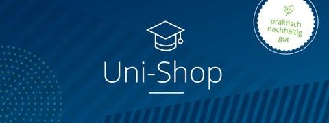 Überschrift Uni-Shop