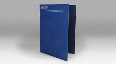 Einlegemappe - Hardcover, textil
