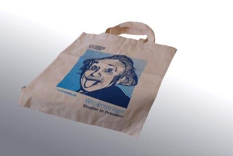 Einsteinbeutel aus Biobaumwolle, Fairtrade