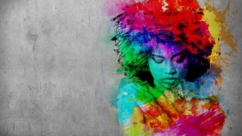 Grafitti-Kopf 2