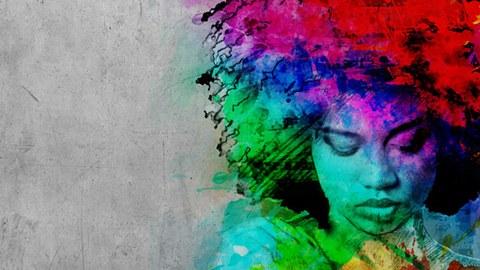 Grafitti-Kopf 1