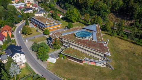 Luftaufnahme Campus Tharand