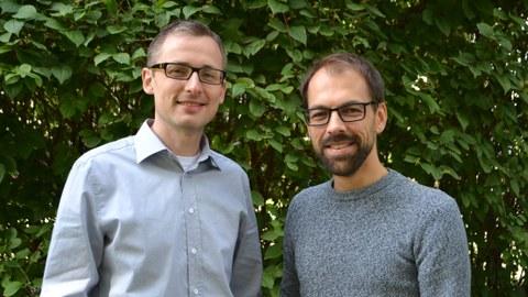 Stefan Kluge (l.) und Jochen Richter verstärken seit Kurzem das UGM-Team