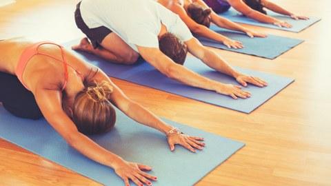 Yoga - Kindhaltung