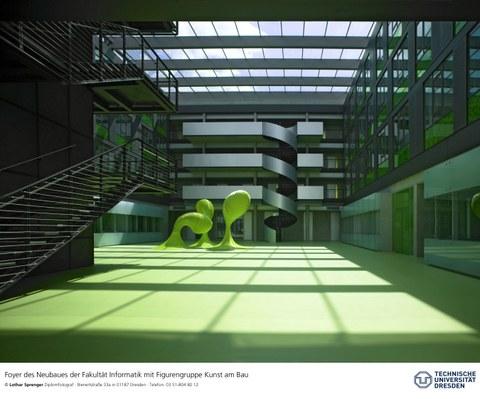 Foyer Andreas-Pfitzmann-Bau