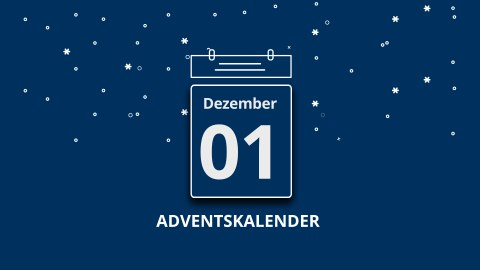 TUD-Social-Media-Adventskalender auf Facebook, Twitter und Instagram