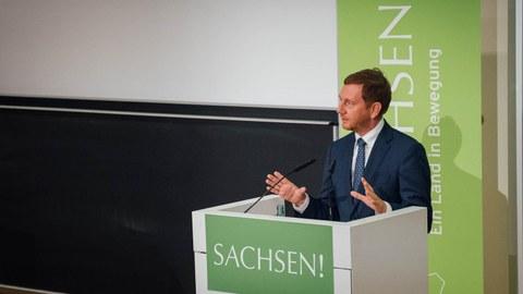 Ministerpräsident Michael Kretschmar