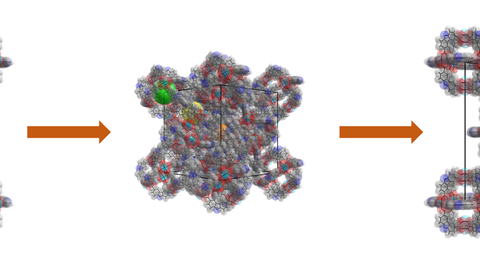 With the DynaDIFF project, Prof. Kaskel and his team will explore the design and understanding of dynamic porous materials, which can adapt their pore size depending on the environment.