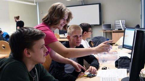 Kurs im Schülerrechenzentrum