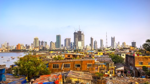 Slum von Mumbai