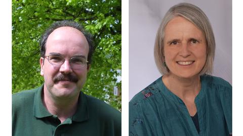 Collage aus den Porträtfotos von Prof. Zuber (links) und Dr. Bilow