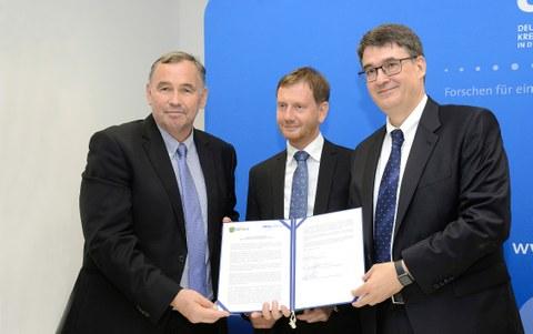 DKFZ in Dresden eröffnet