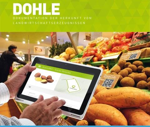Projekt DOHLE: Nachverfolgung und Dokumentation von Lebensmitteln