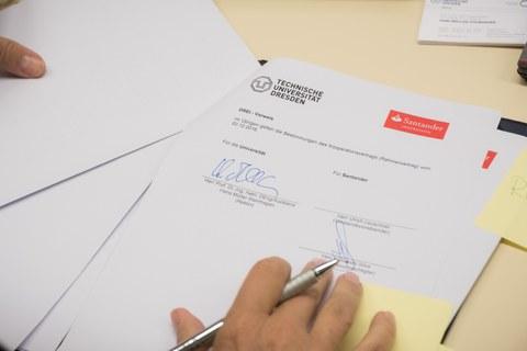 Kooperationsvertrag Santander