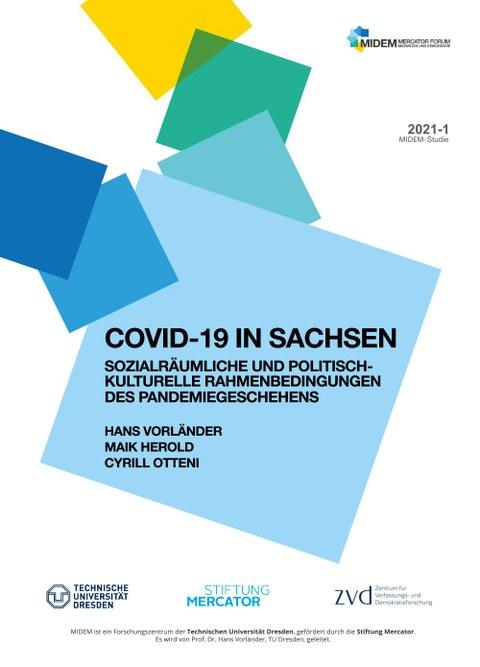 Deckblatt der COVID-Studie von MIDEM