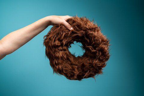 Haariger Donut